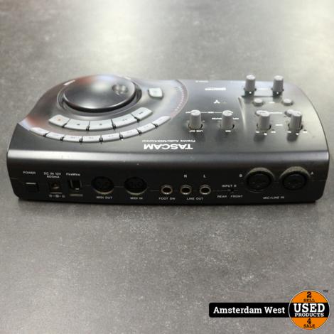 Tascam Fireone Midi interface & geluidskaart in doos