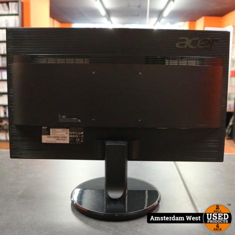 Acer K222HQL (VGA & DVI) Zwart