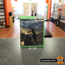 Xbox One Xbox One Game: Final fantasy xv