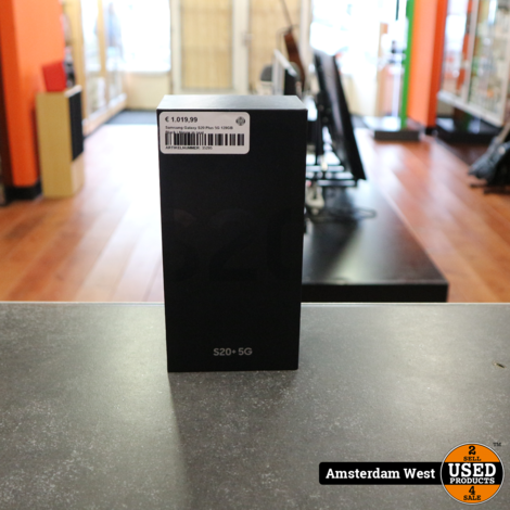 Samsung Galaxy S20 Plus 5G 128GB Black | Nieuw in seal