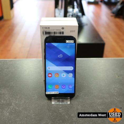 Samsung Galaxy A5 2017 32GB Black in doos
