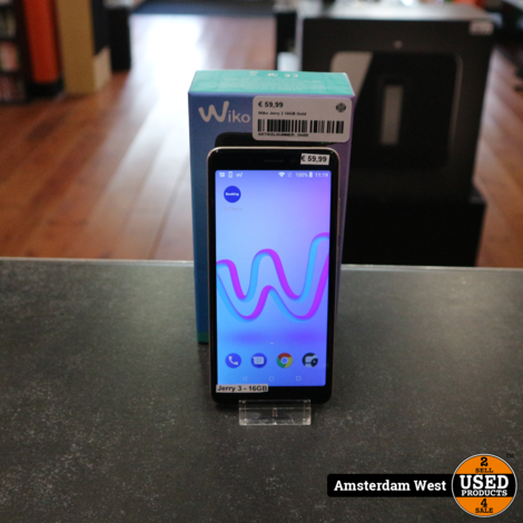 Wiko Jerry 3 16GB Gold