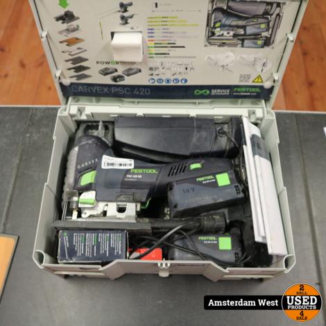 Festool PSC 420 EB Decoupeerzaag in koffer