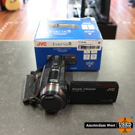 JVC GZ-R401BEU Quadproof Handycam