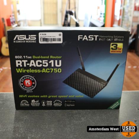 Asus RT-AC51U Router In doos | Nette staat