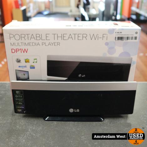 LG DP1W Multimedia player in doos