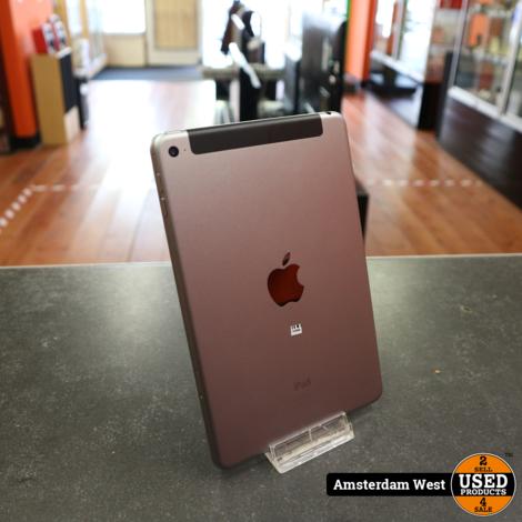 iPad Mini 4 64GB 4G Space Gray | Nette staat