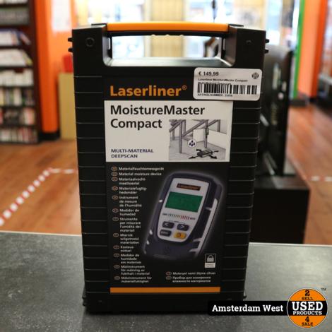Laserliner MoistureMaster Compact Multi-Material Deepscan