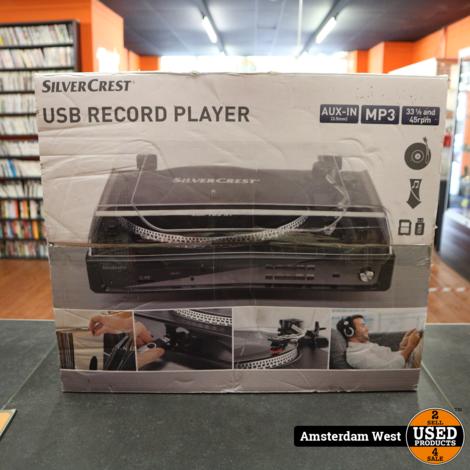 Silvercrest USB Playenspeler | Nieuw in doos