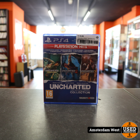 Playstation 4 Game : Uncharted The Nathan Drake Collection