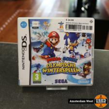 nintendo Nintendo DS Game: Mario and Sonic Olympische Winterspelen