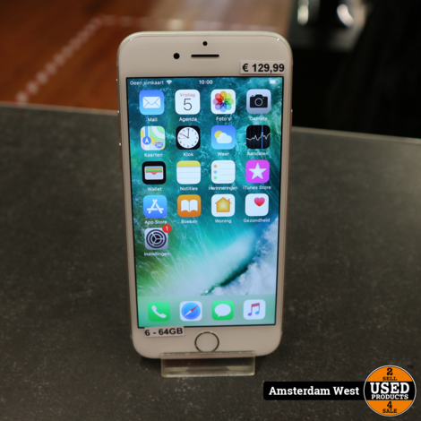 iPhone 6 64GB Silver | Nette staat