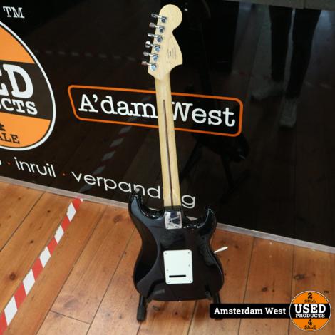 Squier Stratocaster standard Zwart   Nette staat