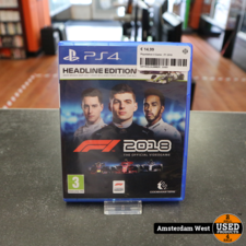 Playstation 4 Playstation 4 Game : F1 2018