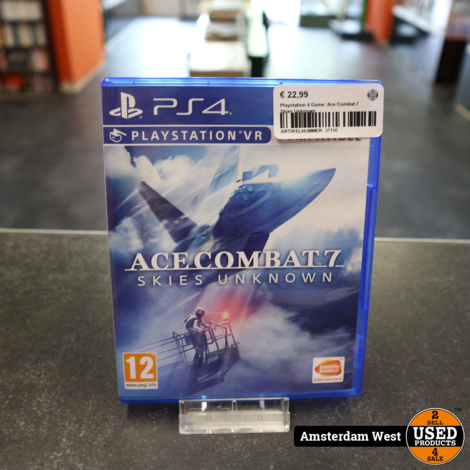 Playstation 4 Game: Ace Combat 7  Skies Unknown