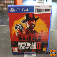 Playstation 4 Playstation 4 Game : Red Dead Redemption 2