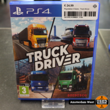 sony Playstation 4 Game : Truck Driver