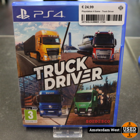 Playstation 4 Game : Truck Driver