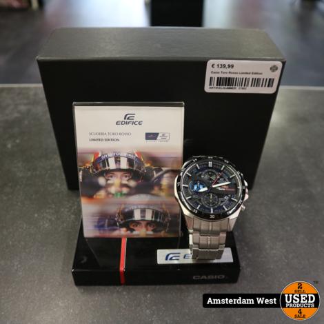 Casio Toro Rosso Limited Edition