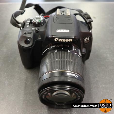 Canon EOS 700D Camera 18-55mm Lens | Redelijke staat