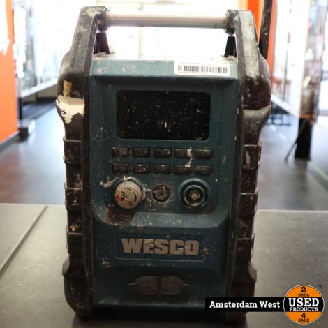 Wesco WS2894K Bouwradio