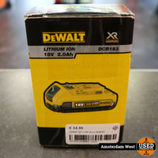 Dewalt DeWalt 10.8V Accu DCB127   Nieuw