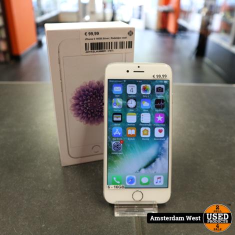iPhone 6 16GB Silver   Redelijke staat