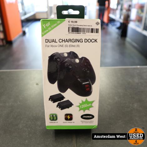 Dobe Dual Charging Dock met 2x accu Xbox one