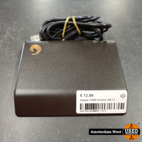 Seagate 120GB Harddisk USB 2.0