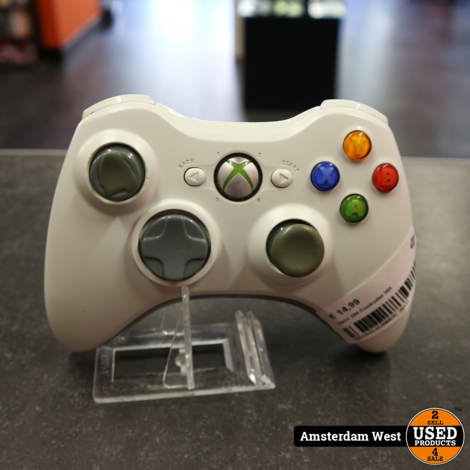 Xbox 360 Controller Wit