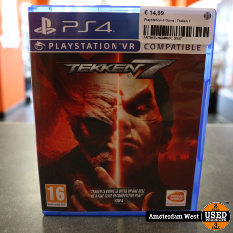 Playstation 4 Game : Tekken 7