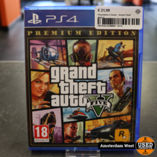 Playstation 4 Game : Grand Theft Auto V