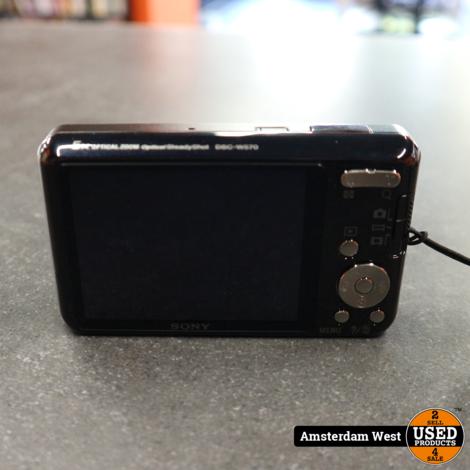 Sony DSC-W570 Zwart 16.1 Megapixel camera