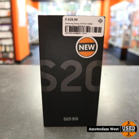 Samsung Galaxy S20 5G 128GB Cosmic Gray | Nieuw in doos