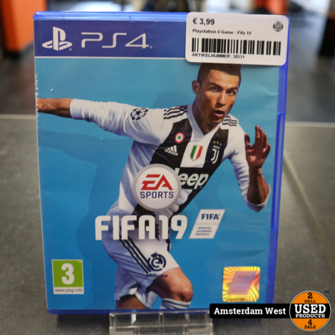 Playstation 4 Game : FIFA 19