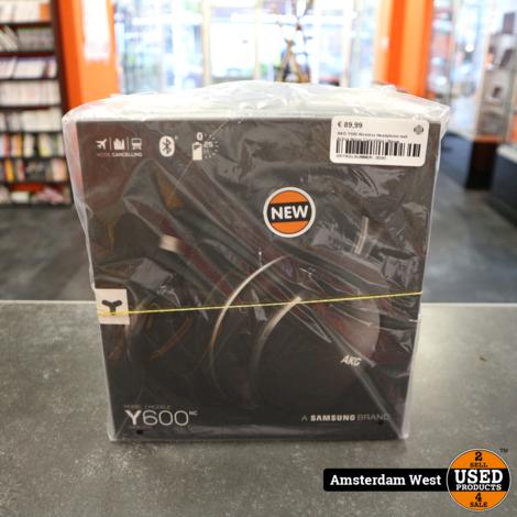 AKG Y600 Wireless Headphone met Active Noise Cancelling | Nieuw