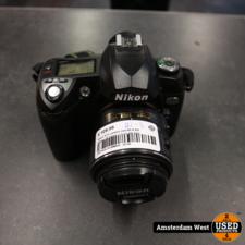 nikon Nikon D70 camera met AF-S DX Nikkor 18-55mm 1:3.5-5.6G lens