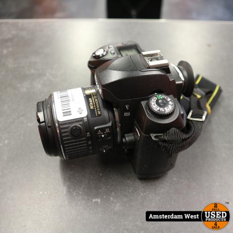 Nikon D70 camera met AF-S DX Nikkor 18-55mm 1:3.5-5.6G lens