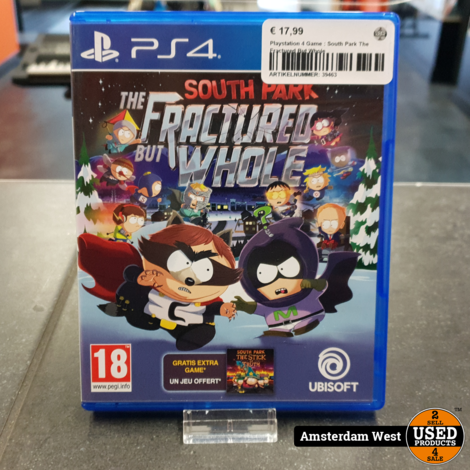 Playstation 4 Game : South Park The Fractured But Whole