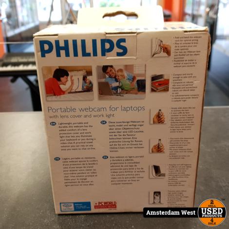 Philips Portable Webcam SPC610NC | Nieuw