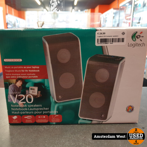 Logitech V20 Computer speakers