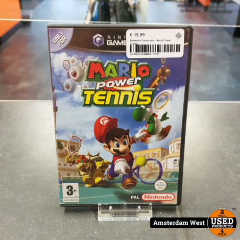 Nintendo Gamecube : Mario Power Tennis