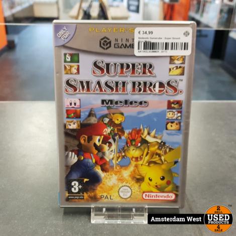 Nintendo Gamecube : Super Smash Bros Melee