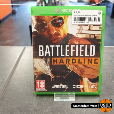 Xbox One Game : Battlefield Hardline