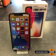 apple iPhone X 64GB Space Gray in doos