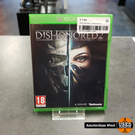 Xbox One Game : Dishonored 2
