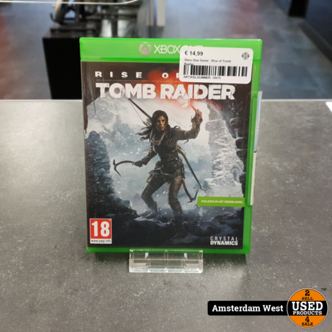 Xbox One Game : Rise of Tomb Raider