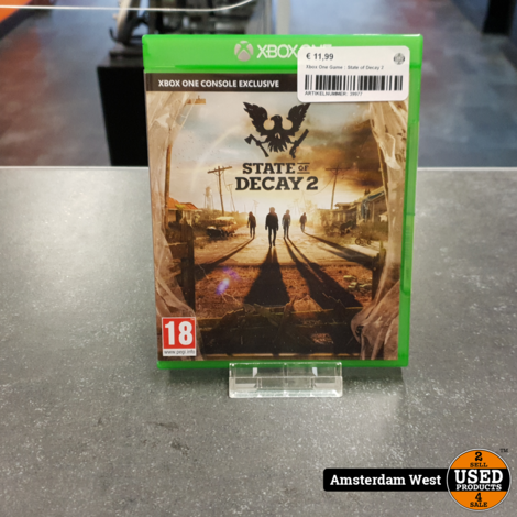 Xbox One Game : State of Decay 2