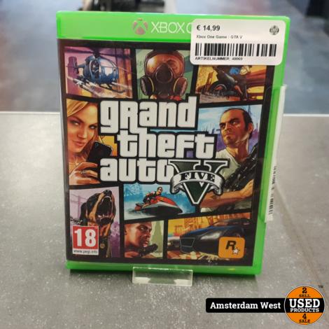 Xbox One Game : GTA V