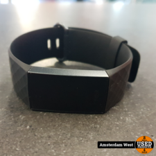 fitbit Fitbit Charge 3 Zwart